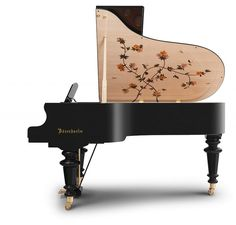 Bösendorfer Dragonfly grand piano added to marquetry range – Piano and Synth Magazine Bosendorfer Piano, Cool Minecraft Houses, Minecraft Buildings, Minecraft Skins, Homemade Instruments, Recording Studio Design, Baby Grand Pianos, Home Studio Music, Music Backgrounds