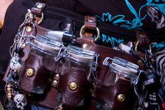 utility belt Steampunk Worlds Fair by Steampunk Family the von Hedwigs, via Flickr