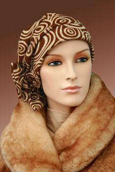 $18.50 - Spots Two Way Cap     #cancer #chemo #alopecia #hair loss