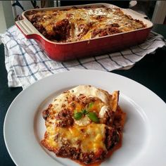 Lasagne Lchf, Keto, Meat Recipes, Healthy Recipes, Healthy Food, Low Carb Meats, Beef Dishes, I Foods, Brunch
