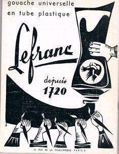 Publicité ancienne Lefranc Bourgeois