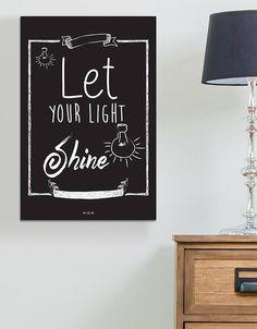 La mejor decoración para tu hogar la encuentras en #ThePrinteryShop. Visita nuestra página y haz tu pedido. #BastidorDeMadera #Letras #Quotes #Decoración