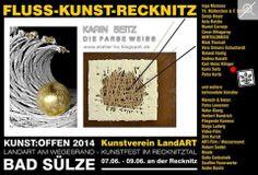 Kunst Offen 2014 | Kunst Offen – Fluss – Kunst -Recknitz – Karin Seitz