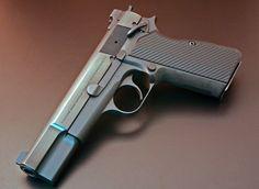gun metal Browning High Power with VZ Pro Slims