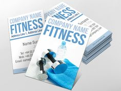 Contemporary business card design ideal for training services contemporary business card design ideal for fitness enthusiasts customise a range of business card accmission Choice Image