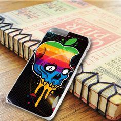 Art Punk Floral Flower Skeleton Skull Head iPhone 6 Plus|iPhone 6S Plus Case