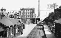 Saltaire, the Railway Station 1909 Bradford City, Northern England, Listed Building, Personal History, West Yorkshire, His Travel, The Locals, The Neighbourhood, Scenery