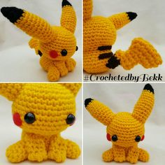 PIKAAAA ☇☇ redesigned Pikachu the other day, thought it was about time to upload haha   Order your Poke-pall today:  www.etsy.com/au/shop/CrochetedbyBekk  #CrochetedbyBekk #Pokemon #PokemonGo #Wip #Nintendo #Amigurumi  #Crochet #CrochetersOfInstagram #CrochetAddict #CrochetEveryday #NeedleFelting #FiberArt #Yarn #BekksPokerumis #GottaCrochetEmAll #likeforlike #pikachu #Handmade #Kawaii #Chibi #Plush #CustomCrochet #Oras #FanArt #Gaming #PokemonGifts #Love #Crafts #Anime #Etsy