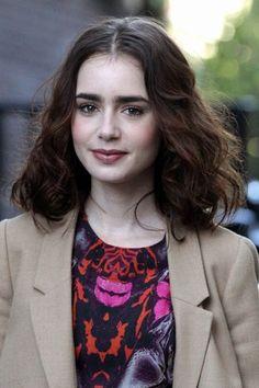 Cortes de cabelo 2015 - Lily Collins
