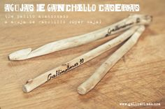 Craft Project: Agujas de ganchillo caseras