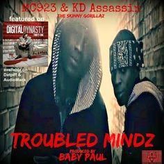 Solo Vibes Music: MC923 & KD Assassin (The Skinny Gorillaz) -  Troub...