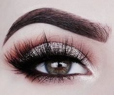 If you'd like to transform your eyes and increase your attractiveness, having the very best eye make-up ideas will help. You need to make sure to put on makeup that makes you look even more beautiful than you already are. Prom Makeup Looks, Love Makeup, Makeup Inspo, Makeup Inspiration, Stunning Makeup, Glam Makeup, Makeup Art, Daily Inspiration, Eye Makeup Blue