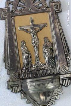 antigua benditera de francia art deco años 40 m - Comprar Benditeras Antiguas en todocoleccion - 164824658