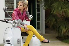 #ridecolorfully Ride fashionably...with a pop of color!