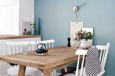 Colores esfumados, una tendencia para decorar la casa  El gris es uno de los grandes protagonistas del año. Se lo mezcla con distintos tonos para darle un matiz especial