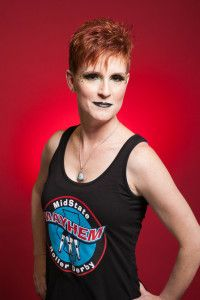 Faery Nuff #96 2016 MMRD Skaters Head Shots | Midstate Mayhem Roller Derby & The Studio on the Square