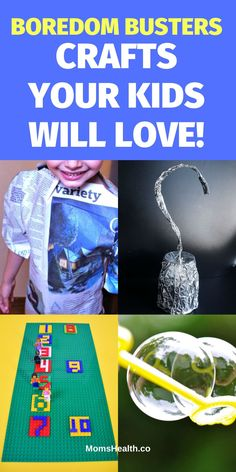 Check these great ideas of boredom busters too keep your kids happy at home. Indoor activities and crafts Your Kids Will Love! Indoor Activities For Kids, Crafts For Kids, Diy Household Tips, Boredom Busters, Best Diets, Parenting Hacks, Diy Gifts, Christmas Diy, Have Fun
