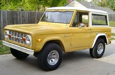 Lars is a great car, but I've always wanted this. Ford Bronco.