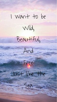 #Quotes about the Beach 🏖 That Nail That Vacay Feeling for when You Need to…