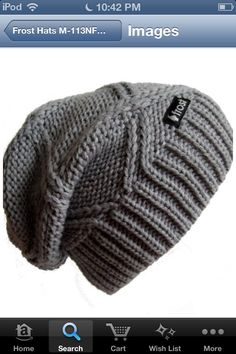 28eaf399fdb Knit Hat PATTERN Easy Slouchy Beanie Beret Instant door ellinell ...