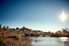 Old Wooden Town of Porvoo by Visit Finland, via Flickr