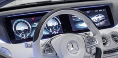 I'm not going to touch infotainment system UI in this article as Teehan+Lax did it before. Instead I'll focus on instrument panels or clusters usually hidden behind steering wheels that have to be a)… Kpi Dashboard, Digital Dashboard, Dashboard Design, Financial Dashboard, Planner Dashboard, Mercedes Sport, Mercedes Benz S, Car Ui, Suv Models