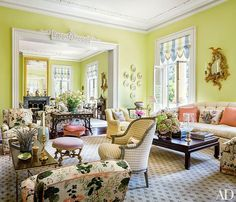 Mario Buatta and Patricia Altschul Exude Southern Charm in Charleston- The Glam Pad