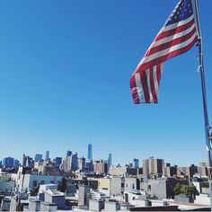 NYC views #rooftop 📷mariabjornsdotter