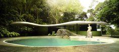 Oscar Niemeyer, Casa das Canoas / RJ