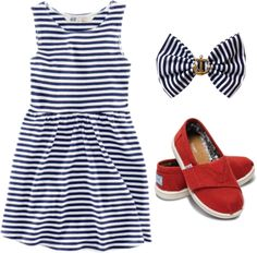 """Toddler Nautical Chic"" by howhauteisthat on Polyvore"