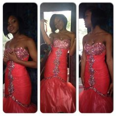 Dress Very Pretty, Long , Tight, Orange Ashley Stewart Dresses