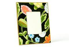 Black Flower Frame on OneKingsLane.com