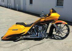 ❗ Harley Bagger, Harley Davidson Trike, Bagger Motorcycle, Harley Bikes, Harley Davidson Street Glide, Custom Baggers, Custom Motorcycles, Custom Bikes, Street Glide Special