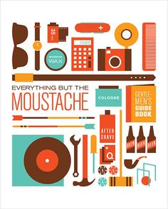 Movember prints for the Mustache Gentleman's Alliance. Illustrations and Designs by Jag Nagra