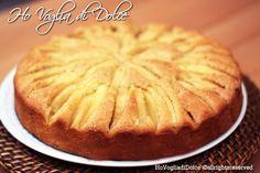 torta di mele soffice a raggi