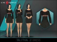 SIms4Krampus' Talitha Dress