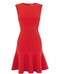 Karen Millen | Red Cute Colourful Collection Dress | Lyst