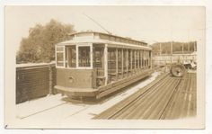 Capital Transit Open Streetcar. Car was used on route 20 (Union Station/Glen Echo) (1937).