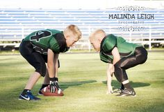 Child Picture Idea, Football, Malinda Leigh Photography