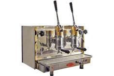 "Ok, being an aficionado of all things vintage and mechanical I think I have found my next "" gotta have one"" a Bosco spring lever espresso machine!"