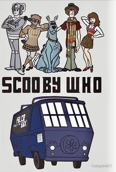 Scooby-Doo / Doctor Who, mashup