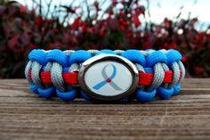 Type 1 Diabetes Awareness Paracord Bracelets . via Etsy.