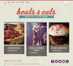 beats & eats (design)