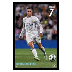 Real Madrid - Christiano Rona Framed Poster Trends International c62dbc37c502b