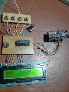 VFO con pic16F628A Pic Microcontroller, Arduino, Mp3 Player, Electronics, Montages, Consumer Electronics