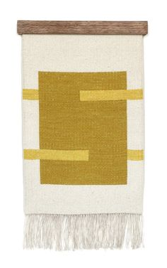 www.editionlocal.com >> Rachel Duvall - hand woven wall piece silk weft over a linen warp hand dyed with natural dyes