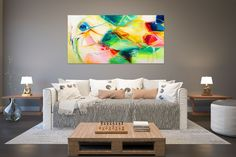 Items similar to Large Painting on Canvas,Original Painting on Canvas,modern wall canvas,abstract originals,huge canvas painting on Etsy Oversized Wall Decor, Oversized Canvas Art, Large Abstract Wall Art, Large Wall Art, Large Painting, Texture Painting, Painting Art, Texture Art, Large Art