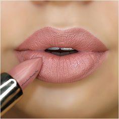 Beautiful lip color.