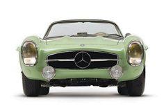 1957 Mercedes-Benz 300 SL Rallye Roadster #car #mercedes