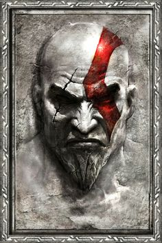 I used to like Greek mythology before playing God Of War. After completing them all, I've come to the conclusion that I LOVE Greek mythology! Kratos God Of War, Hack And Slash, Comic Character, Game Character, Gods Of War, Guerrero Tattoo, War Tattoo, Desenho Tattoo, Game Art